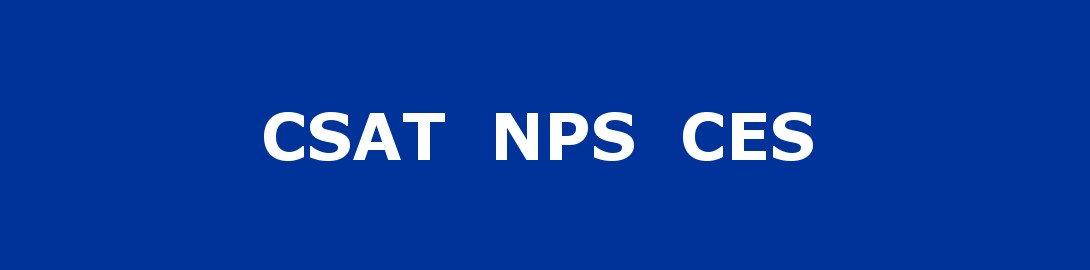 CSAT NPS CES